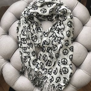 Accessories - Peace Sign Scarf